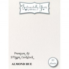 Phill Martin - Sentimentally Yours - Premium Cardstock - Almond Hue