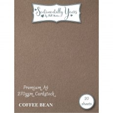 Phill Martin - Sentimentally Yours - Premium Cardstock - Coffee Bean