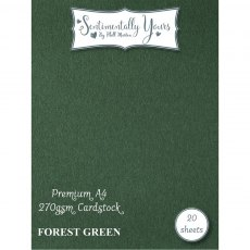 Phill Martin - Sentimentally Yours - Premium Cardstock - Forest Green