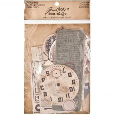 Idea-ology - Tim Holtz Ephemera Pack Expedition
