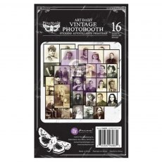 Prima Marketing - Vintage Photo Booth Sticker Pad