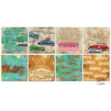 Decorer - Cars 6 x 6 inch Paper Pad