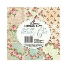 Decorer - Shabby Chic 6 x 6 inch Paper Pad