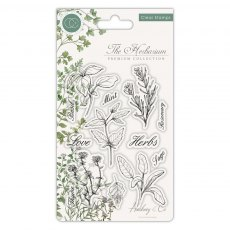 Craft Consortium - Clear Stamps - The Herbarium Herbs