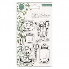 Craft Consortium - Clear Stamps - The Herbarium Utensils