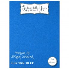 Phill Martin - Sentimentally Yours - Premium Cardstock - Electric Blue