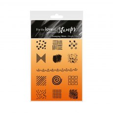 Hunkydory - For the Love of Stamps - Doodle Tiles