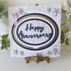 Phill Martin - Sentimentally Yours - MDF Sentiment Adornment - Happy Anniversary