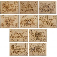 Phill Martin - Sentimentally Yours - MDF Sentiment Adornment Bundle