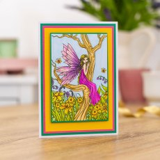 Molly Harrison Photopolymer Stamp - Marta's Garden
