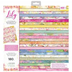 Nature's Garden - Lily Collection - 12 x 12 inch Paper Pad