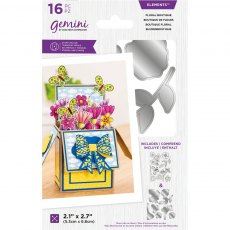Gemini - Pop Up Boxes - Stamp & Die - Floral Boutique