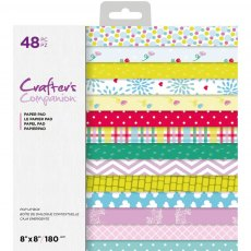 Crafter's Companion - Pop Up Boxes - 8 x 8 inch Paper Pad