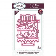 Sue Wilson Craft Dies - All In One Collection - Another Candle