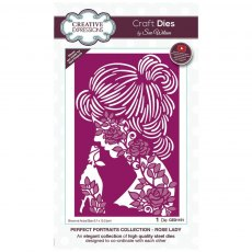 Sue Wilson Craft Dies - Perfect Portraits Collection - Rose Lady