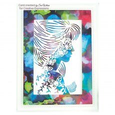 Sue Wilson Craft Dies - Perfect Portraits Collection - Papillon Silhouette