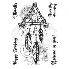 Woodware Clear Stamps - Dream Catcher