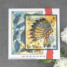 Woodware Clear Stamps - Headdress