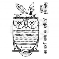 Woodware Clear Stamps - Bo Hoot!