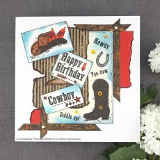 Woodware Clear Stamps - Howdy Cowboy