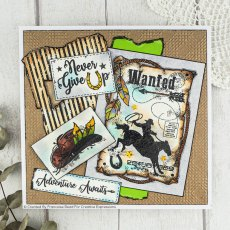 Woodware Clear Stamps - Wanted