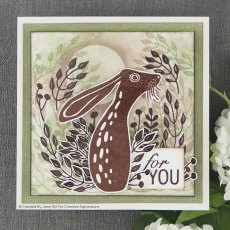Woodware Clear Stamps - Hare in the Middle