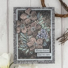 Woodware Clear Stamps - Blooming Lovely