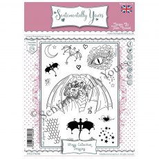 Designs by Trudie Howard - Sentimentally Yours Stamps - Wings Collection - Dragons