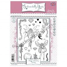 Designs by Trudie Howard - Sentimentally Yours Stamps - Wings Collection - Fairies