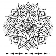 Woodware Clear Stamps - Mandala One