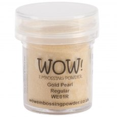 Wow Embossing Powder 15 ml Gold Pearl - Regular