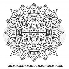 Woodware Clear Stamps - Mandala Two