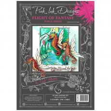 Pink Ink Designs - Die & Stamp - A Cut Above - Flight of Fantasy
