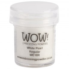 Wow Embossing Powder 15 ml White Pearl - Regular