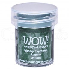 Wow Embossing Powder 15 ml Primary Evergreen - Regular