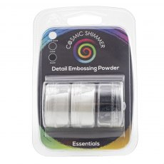 Cosmic Shimmer Detail Embossing Powder - Trio - Essentials