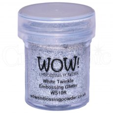 Wow Embossing Powder 15 ml White Twinkle - Regular