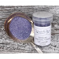 Phill Martin - Sentimentally Yours - Twinkling Embossing Powder - Soft Lavender