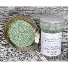 Phill Martin - Sentimentally Yours - Twinkling Embossing Powder - Soft Peridot