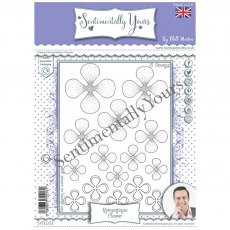Phill Martin - Sentimentally Yours Stamps - Romantique Flower