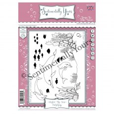 Designs by Trudie Howard - Sentimentally Yours Stamps - Under The Sea Collection - Dolphins