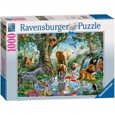 Ravensburger 1000 Piece Puzzle - Adventures in the Jungle