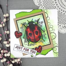 Woodware Clear Stamps - Ladybird