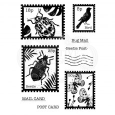 Woodware Clear Stamps - Beetle Post