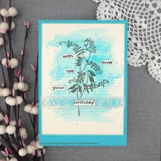 Woodware Clear Stamps - Wood Vetch
