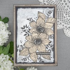 Woodware Clear Stamps - Dog Rose