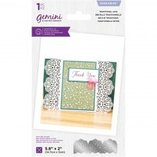 Gemini - Lace Edgeables Die - Traditional Lace
