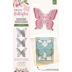 Nature's Garden - Beautiful Butterflies Collection - Metal Die - Statement Butterfly