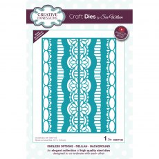 Sue Wilson Craft Dies - Endless Options - Delilah Background