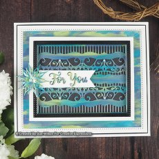 Sue Wilson Craft Dies - Endless Options - Paulette Background
